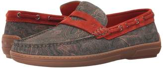 Etro Paisley Boat Shoe Men's Shoes