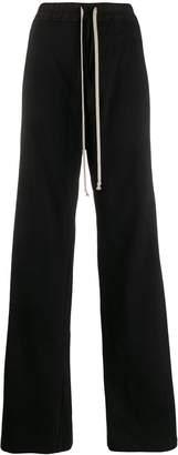 Rick Owens flared track pants
