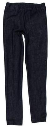 The Row Mid-Rise Skinny Leggings
