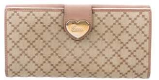 Gucci Diamante Continental Wallet Beige Diamante Continental Wallet