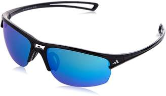 adidas Women's Wildcharge Non-Polarized Iridium Rectangular Sunglasses