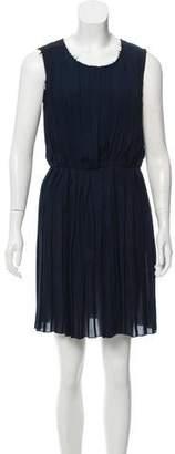 Rag & Bone Pleated Mini Dress