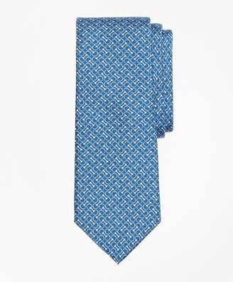 Brooks Brothers Link Print Tie
