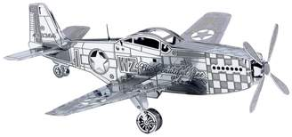 Kohl's Metal Earth 3D Laser Cut Model P-51 Mustang Kit by Fascinations
