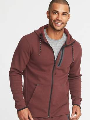 Old Navy Dynamic Fleece 4-Way-Stretch Zip Hoodie for Men