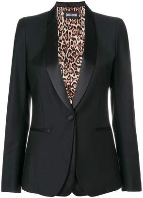 Just Cavalli fitted blazer