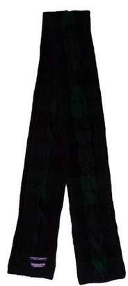 Ralph Lauren Cashmere Cable Knit Scarf