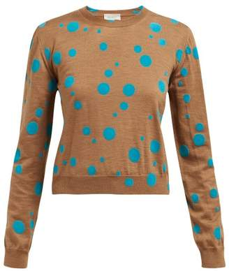 Polka Dot Sweater Shopstyle Uk
