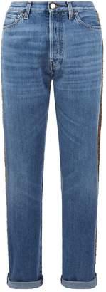 Roberto Cavalli Sequined Jeans