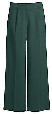 Eileen Fisher Women's Wide-Leg Trousers - Size 0