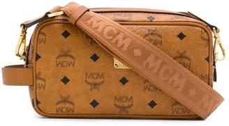 MCM logo print crossbody bag