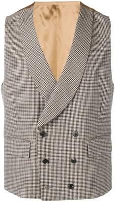 Gabriele Pasini houndstooth waistcoat