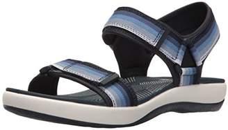 Clarks Women's Brizo Ravena Flat Sandal