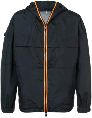 Moncler Logo panel lightweight jacket