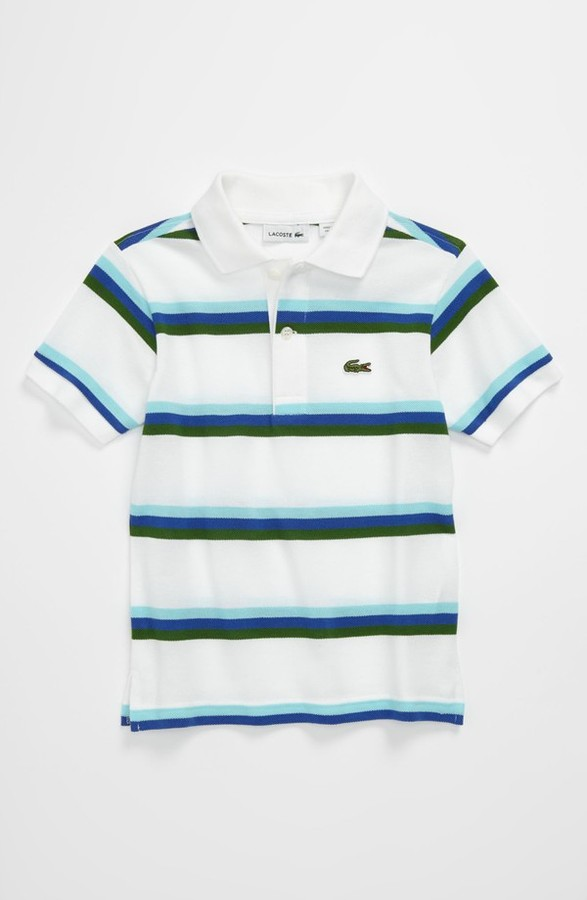 Lacoste Polo (Toddler) Blue 2T