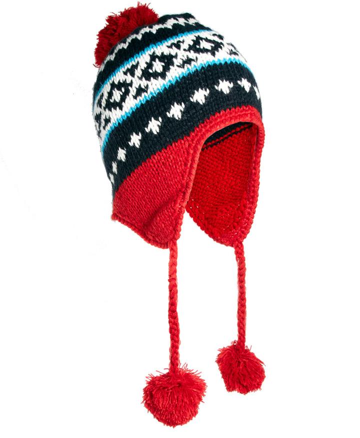 Konrad Bobble Hat Knit