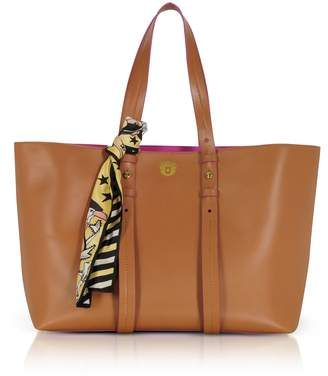 Paula Cademartori Helen Large Pecan Brown Tote Bag