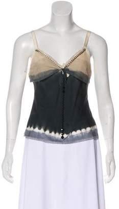 Prada Embellished Sleeveless Top