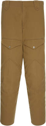 Cotton-Twill Slim-Fit Cargo Pants