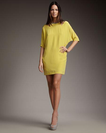 Nicole Miller Cutout Shift Dress