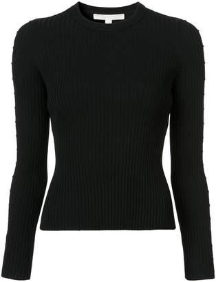 Jonathan Simkhai cut out sleeve ribbed sweater
