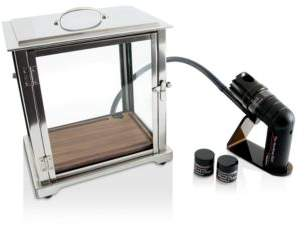 Crafthouse by Fortessa The Smoking BoxTM with Handheld Smoker