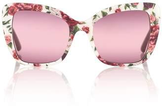 Dolce & Gabbana Square acetate sunglasses