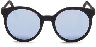 Spektre 'Stardust' matte acetate round mirror sunglasses