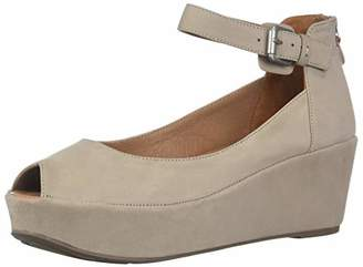 Gentle Souls Women's Nyssa Peep Toe Wedge Pump
