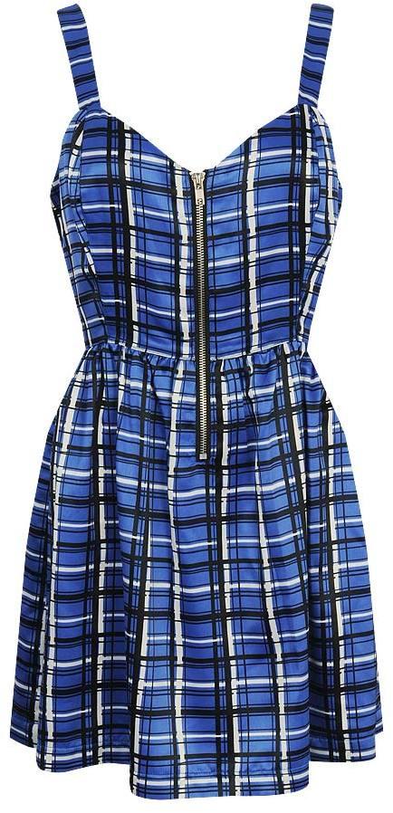 Forever 21 Modern Plaid Dress