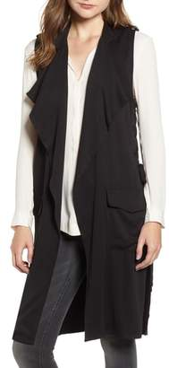 BB Dakota Bad and Boujee Lace-Up Vest