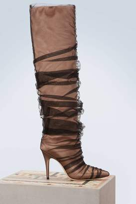 Jimmy Choo x Off-White Elisabeth 100 boots