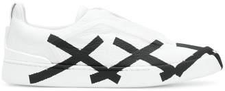 Ermenegildo Zegna triple stitch XXX sneakers