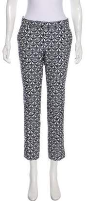 True Royal Patterned Mid-Rise Pants
