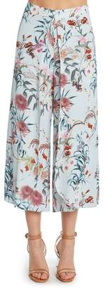 Willow & Clay Print Layered Culottes