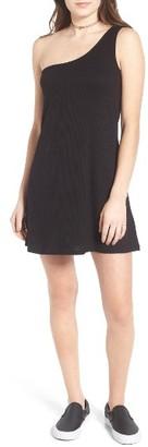Women's Love, Fire Knit One-Shoulder Shift Dress $39 thestylecure.com
