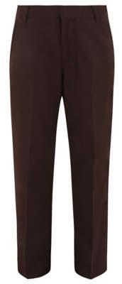 George Boys Brown Adjustable Waist School Trousers