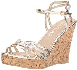 Callisto Women's Brush Wedge Sandal