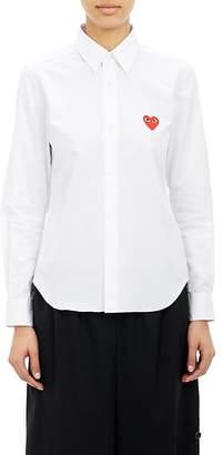 Comme des Garcons Women's Heart Emblem Shirt