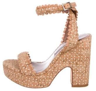 Tabitha Simmons Harlow Platform Sandals