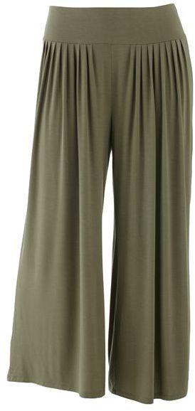 JLO by Jennifer Lopez pleated wide-leg palazzo pants - women's plus