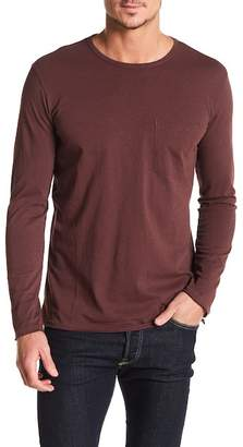 Rag & Bone Raw Edge Crew Neck Tee