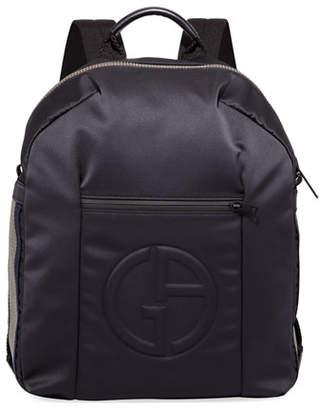 Giorgio Armani Men's Nylon Backpack