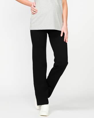 Fold Waist Active Pants