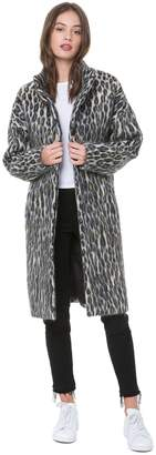 Juicy Couture Boulevard Leopard Coat