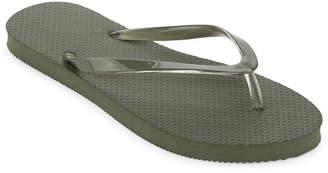 MIXIT Mixit Solid Zori Flip-Flops