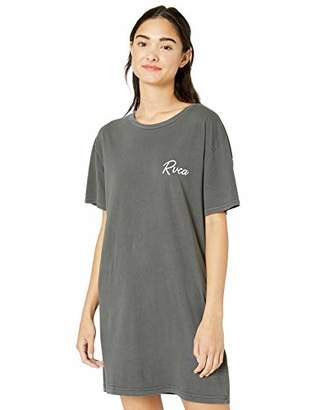 RVCA Womens Next Wave Oversized T-Shirt Dress