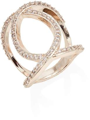 Etereo Crystal Rand Intertwined Ring