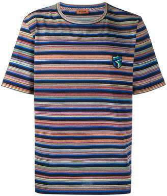 Missoni striped round neck T-shirt