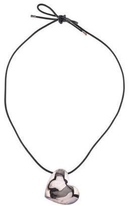 Christofle Heart Pendant Necklace